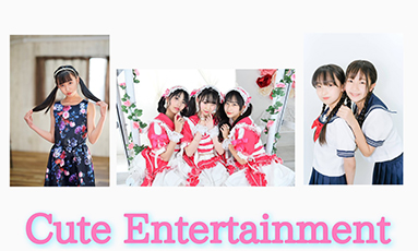 Cute Entertainment定期公演(ViVian/なっちゃん&梨花/ここな)