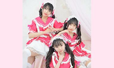 Cute Entertainment定期公演(ViVian+ゆうゆ+梨花)